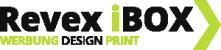 Revex iBOX – Werbung | Design | Druck Retina Logo