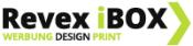 Revex iBOX – Werbung | Design | Druck Sticky Logo
